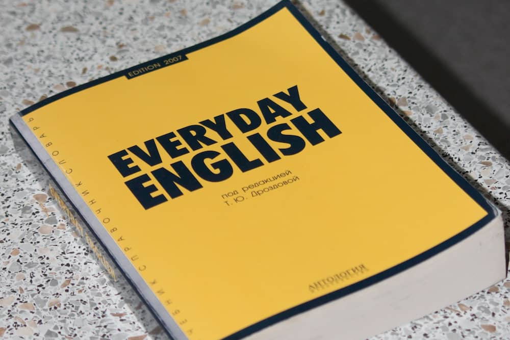everydayenglishの本