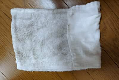 汚れた雑巾
